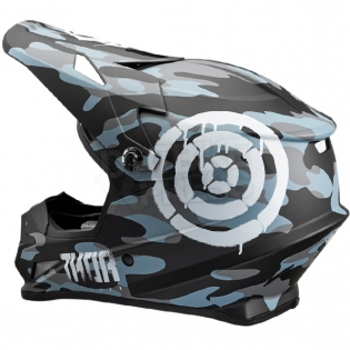 2018 Thor Sector Helmet - Covert Midnight Camo Image 3