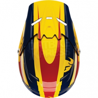 2018 Thor Kids Sector Helmet - Ricochet Navy Yellow Image 4
