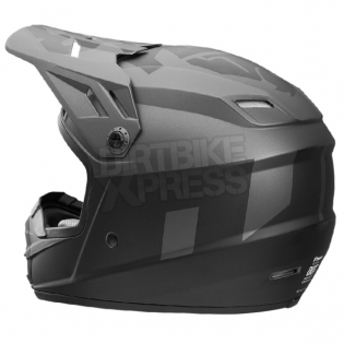2018 Thor Kids Sector Helmet - Level Charcoal Black Image 3