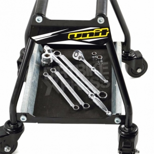 Unit Dolly Bike Stand with Wheels - Black Image 4