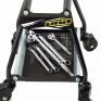 Unit Dolly Bike Stand with Wheels - Black