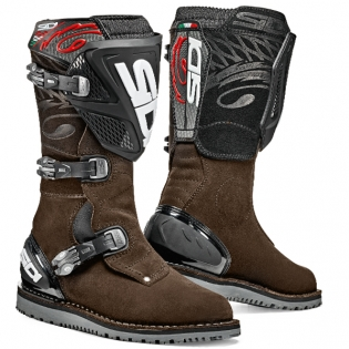 Sidi Zero.1 Trials Boots - Brown Image 3