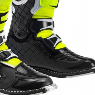 Gaerne G React Boots - White Black Fluo Yellow Image 2