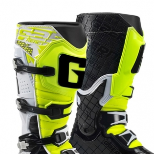 Gaerne G React Boots - White Black Fluo Yellow Image 3