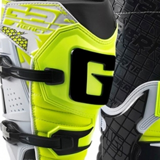 Gaerne G React Boots - White Black Fluo Yellow Image 4