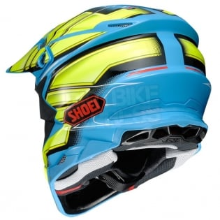 2018 Shoei VFX-WR Helmet - Glaive Yellow TC2 Image 4