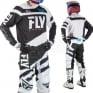 2018 Fly Racing F16 Kit Combo - Black White