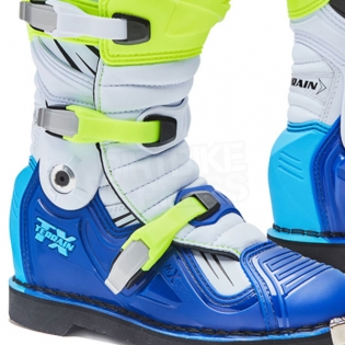 Forma Terrain TX 2.0 Motocross Boots - Fluo Yellow White Blue Image 2
