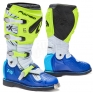 Forma Terrain TX 2.0 Motocross Boots - Fluo Yellow White Blue
