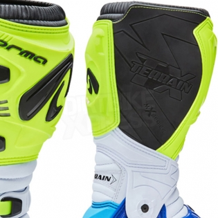 Forma Terrain TX 2.0 Motocross Boots - Fluo Yellow White Blue Image 4