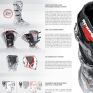 Sidi Crossfire 2 SRS Motocross Boots - Black White