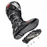 Sidi Crossfire 3 SRS Motocross Boots - Red Fluo Ash