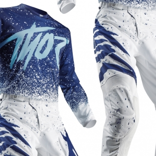 2018 Thor Pulse Air Kit Combo - Hype White Navy Image 3