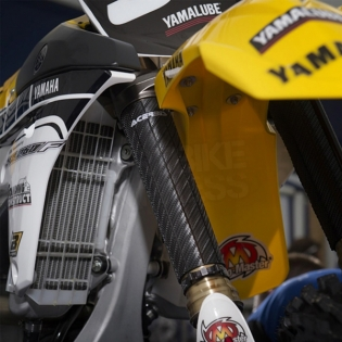 Acerbis Upper Fork Covers - Yellow Image 3