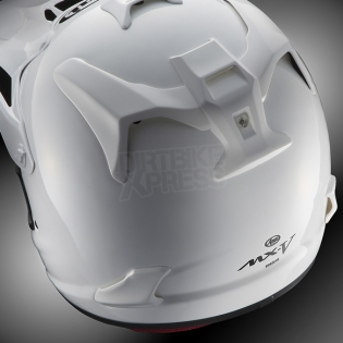 Arai MXV Motocross Helmet - Day Red Image 2