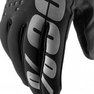 100% Hydromatic Brisker Gloves - Black Image 2