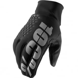 100% Hydromatic Brisker Gloves - Black Image 3