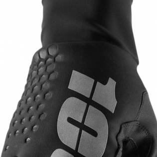 100% Hydromatic Brisker Gloves - Black Image 4