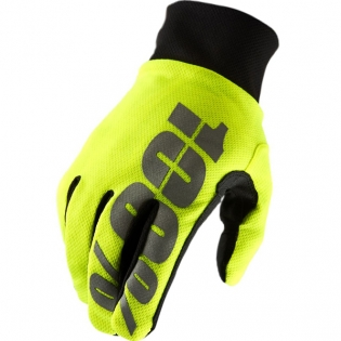 100% Hydromatic Gloves - Neon Yellow Image 3