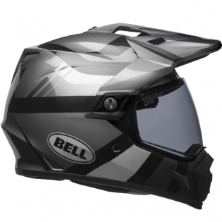 Bell MX9 MIPS Adventure Helmet - Matte Gloss Blackout Image 2