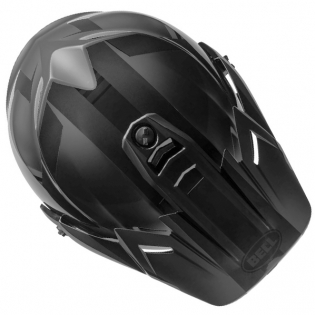 Bell MX9 MIPS Adventure Helmet - Matte Gloss Blackout Image 4