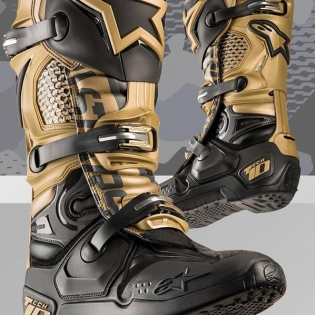 Alpinestars Tech 10 Boots - Limited Edition Aviator Image 3