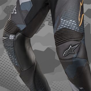 2018 Alpinestars Racer Pants - Ltd Ed Aviator Navy Black Gold Image 3