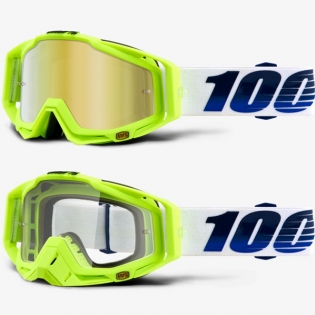 100% Racecraft Goggles - GP21 Mirror Lens Image 3
