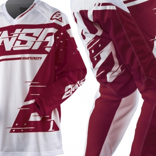 2018 Answer Syncron Air Jersey - White Red Image 2