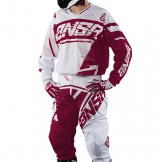 2018 Answer Syncron Air Jersey - White Red Image 3