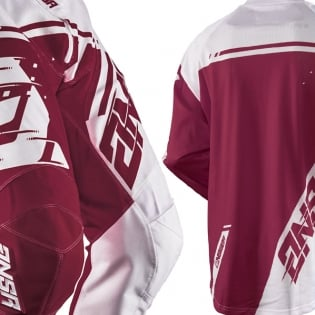 2018 Answer Syncron Air Jersey - White Red Image 4