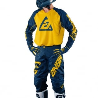 2018 Answer Elite Kit Combo - Navy Yellow Image 3