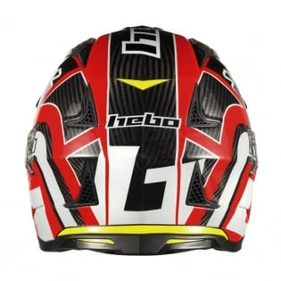 Hebo Zone 4 Carbon Trials Helmet - Red Image 2