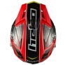 Hebo Zone 4 Carbon Trials Helmet - Red