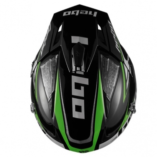 Hebo Zone 4 Extreme 2 Trials Helmet - Black Image 2