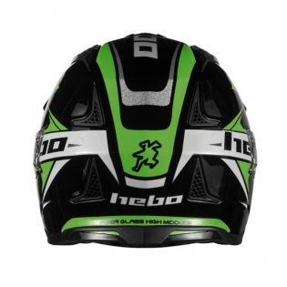 Hebo Zone 4 Extreme 2 Trials Helmet - Black Image 3