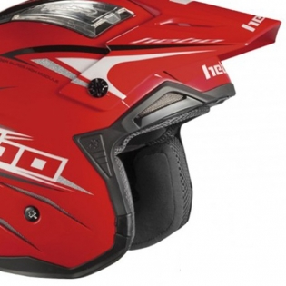 Hebo Zone 4 Extreme 2 Trials Helmet - Red Image 2