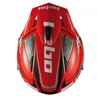 Hebo Zone 4 Extreme 2 Trials Helmet - Red Image 3