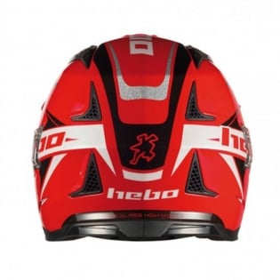Hebo Zone 4 Extreme 2 Trials Helmet - Red Image 4