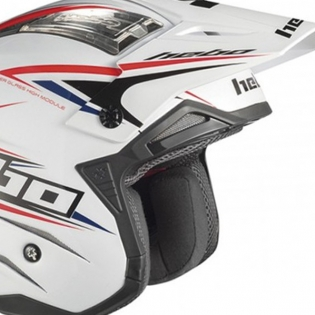 Hebo Zone 4 Extreme 2 Trials Helmet - White Image 2