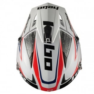 Hebo Zone 4 Extreme 2 Trials Helmet - White Image 3