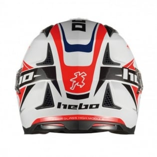 Hebo Zone 4 Extreme 2 Trials Helmet - White Image 4