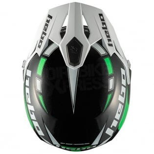 Hebo Zone 5 Polycarb Trials Helmet - Like Green Image 2