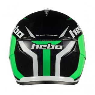 Hebo Zone 5 Polycarb Trials Helmet - Like Green Image 4