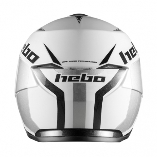 Hebo Zone 5 Polycarb Trials Helmet - Like White Image 4