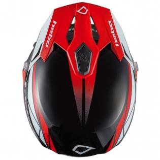 Hebo Zone 5 Polycarb Trials Helmet - Svan Red Image 2