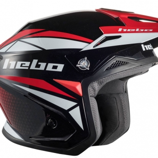 Hebo Zone 5 Polycarb Trials Helmet - Svan Red Image 3