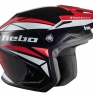 Hebo Zone 5 Polycarb Trials Helmet - Svan Red