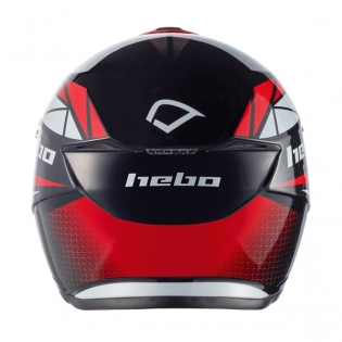 Hebo Zone 5 Polycarb Trials Helmet - Svan Red Image 4