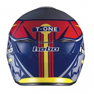 Hebo Zone 5 Polycarb Trials Helmet - T-One Grey Image 4